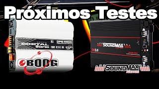 Próximos testes: Boog e Soundmax