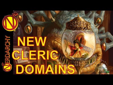 NEW Cleric Domains- Xanathar's Guide to Everything for 5E D&D