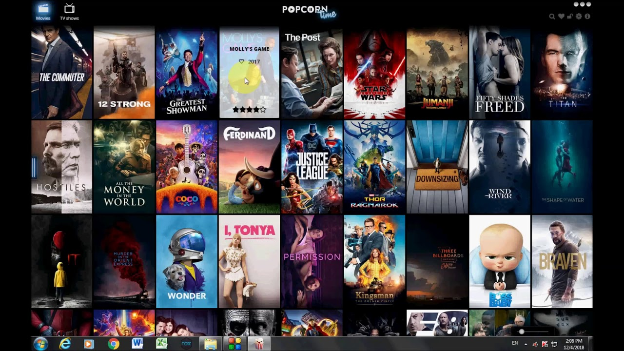 Installation Free Software POPCORN-TIME Watch / Download Movies and TV shows instantly in HD - YouTube