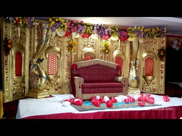 Indoor stage decoration khoobsurat +91 8081265333
