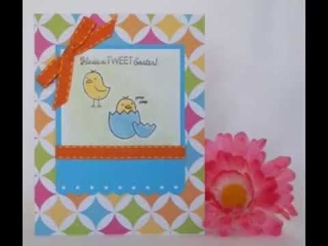 Homemade easter cards ideas YouTube – Easter Cards Ideas