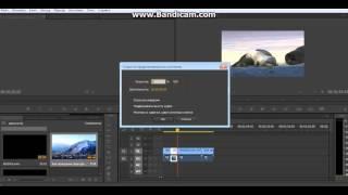 видео урок Adobe Premiere Pro #2 сс ( скорость видео)
