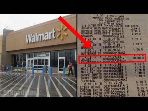 Si ve esto en su recibo de Walmart, llame a la policía de inmediato: esto es lo que significa