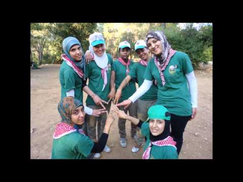 the 21st  Arab camp's song of Girl Guides