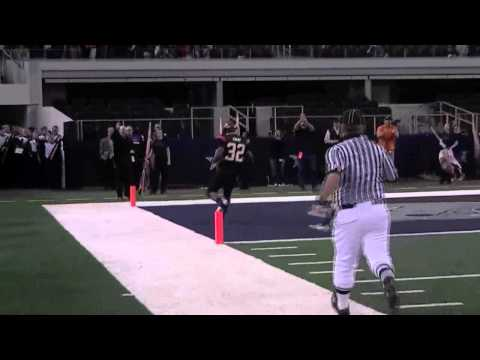 Johnathan Gray - Aledo RB Touchdown Run (State Championship)
