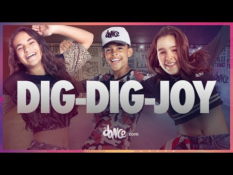Dig-Dig-Joy - Sandy & Junior Coreografia  Dance
