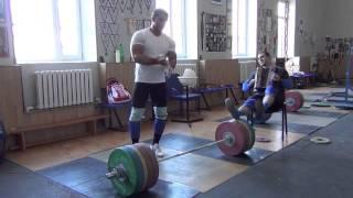 Klokov Dmitry clean 215 kg  3.07.2013