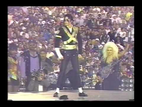 Michael Jackson - Jam, Billie Jean, Black or White Super Bowl(Subtitulado español)