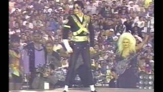 Michael Jackson - Jam, Billie Jean, Black or White Super Bowl  (Subtitulado español)