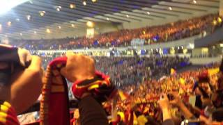 Brabançonne Belgian National Anthem in Hampden Park