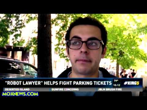 Computer Bot Saves 175,000 People From Paying Parking Tickets! FOR FREE!