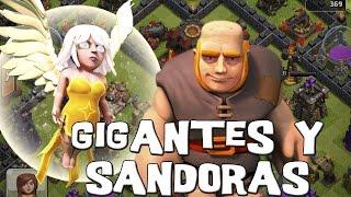 Como atacar con Gigantes y Sanadoras-Th6 | Extrategia| Clash of clans