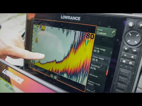 How to set up Lowrance LiveSight