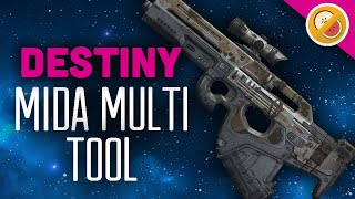 DESTINY The Salt Train MIDA Multi Tool Fully Upgraded Exotic PvP OP (PS4 Gameplay Commentary) Funny