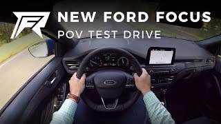 2018 Ford Focus 1.0 Ecoboost 125HP - POV Test Drive (no talking, pure driving)