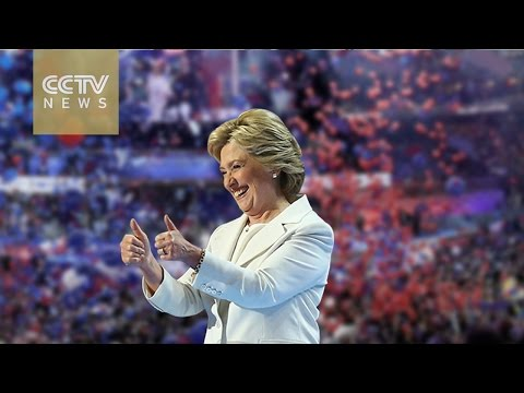 Hillary Clinton secures Democratic nomination