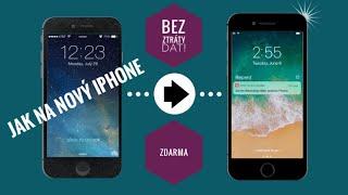 ✅ Jak přejít na nový iPhone bez ztráty dat!