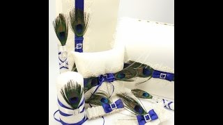 Свадебный комплект Gilliann Magic Peacock