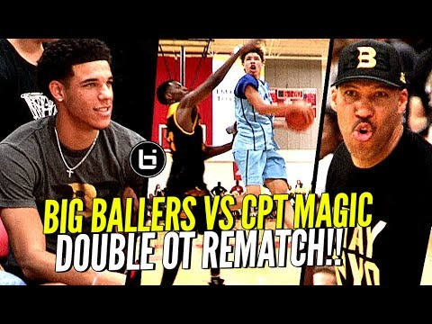 Thumbnail: LaMelo Ball HEATED Rematch vs Compton Magic! Big Ballers WON'T GET PUNKED! Come Out STRONG