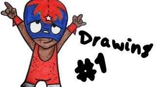 Drawing #1 - Rikochet (Mucha Lucha)