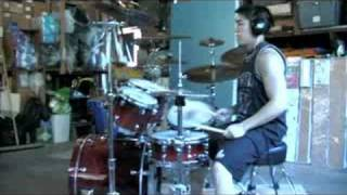 Todd Hardcore Drumming FIRE WITH FIRE - Stick to your Guns -