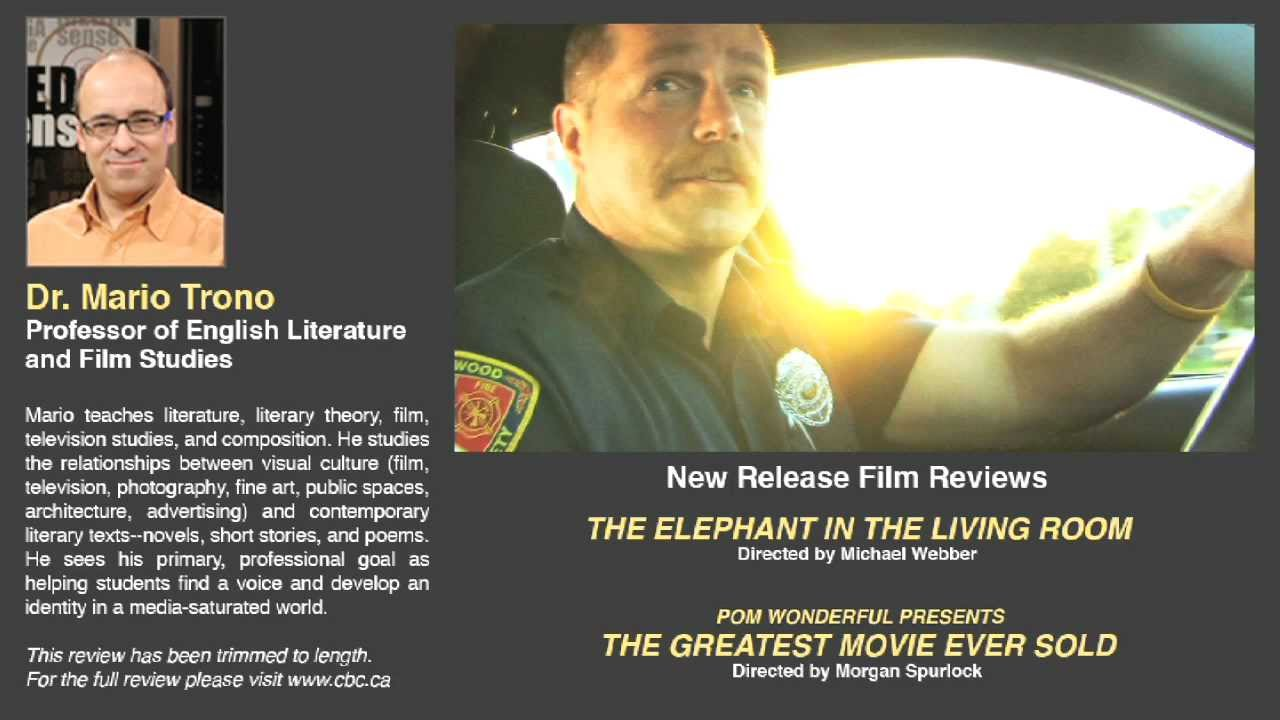Movie Review The Elephant In The Living Room Vs Greatest Movie Ever Sold Youtube
