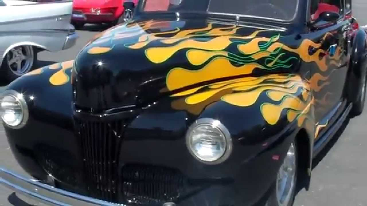 1941 Ford Coupe Youtube Custom Hot Rod
