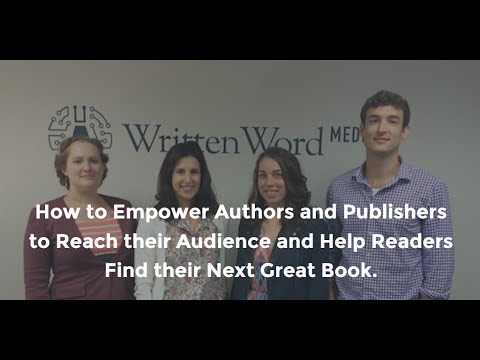 Written Word Media Helps Indie Authors Find Readers, And