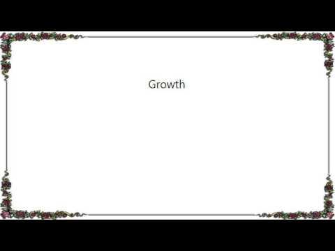 India.Arie - Growth Lyrics