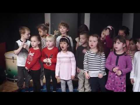 Junior Jammers Perform 'On Top Of Spaghetti' in the Recording Studio at Resonate Music