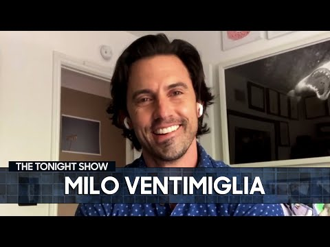 Milo Ventimiglia Accidentally Sent Jimmy's Wife an Interesting Photo | The Tonight Show