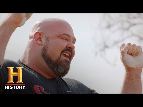 BRIAN SHAW&39;S WORLD RECORD 733 LB STONE LIFT  The Strongest Man in History  History