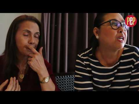 Daria Ramirez and Elizabeth Oropesa agree showbiz was way better before than now
