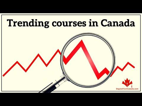 Trending courses in Canada