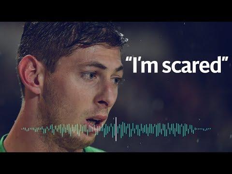 Emiliano Sala's audio message before suspected plane crash