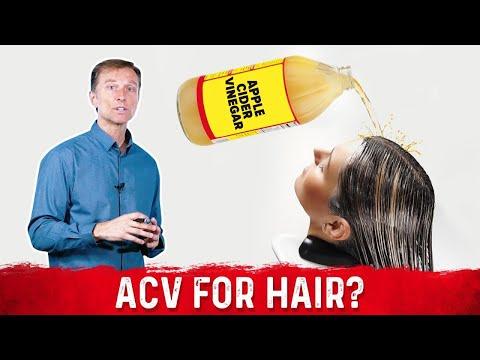 Is Apple Cider Vinegar Safe for Your Hair?