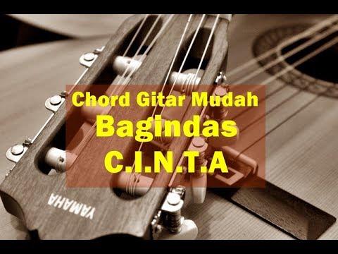 Kunci Gitar - Bagindas CINTA   G - Mudah Bangett