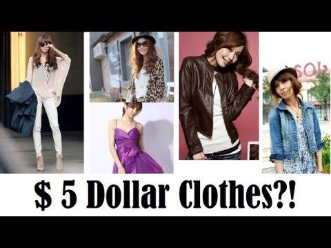 OMG $5 Clothes?!