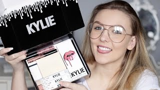 Kylie Cosmetics First Impressions + Review! Velvet Lip Kit, Kylighter + More!