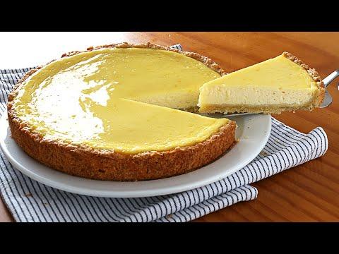 Tarta de yogur BARATA, fácil de hacer y ¡Muy rica!
