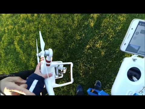 DJI Phantom DRONE FLY AWAY DANGEROUS