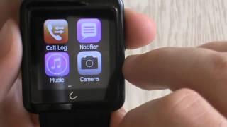 Смарт часы U10 smartwatch обзор //Author// (smartwatch review)