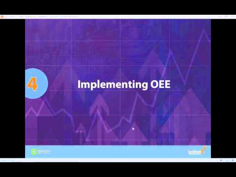 MES Training for Integrators: OEE