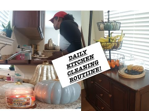 KITCHEN CLEANING MOTIVATION! FALL KITCHEN 2017| LONG VIDEO