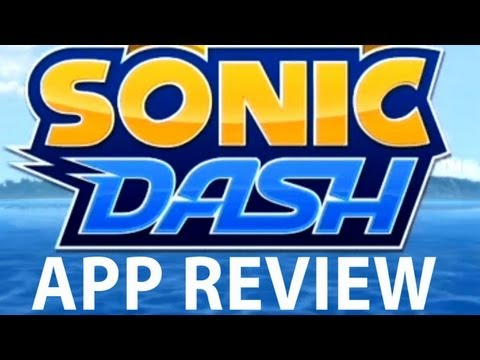 Sonic Dash App Review & Gameplay