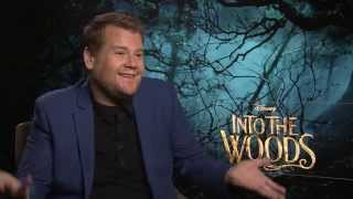 "James Corden: ""I was terrified singing in front of Meryl Streep"" - Into The Woods interview"