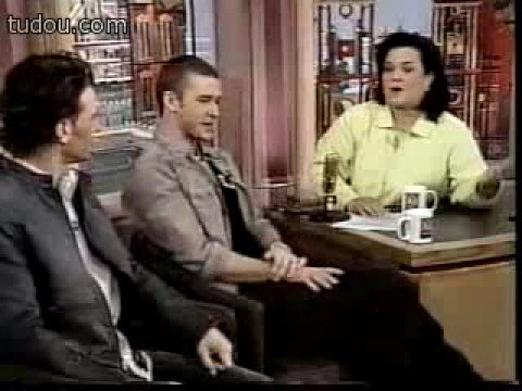 Nsync On Rosie O Donnell