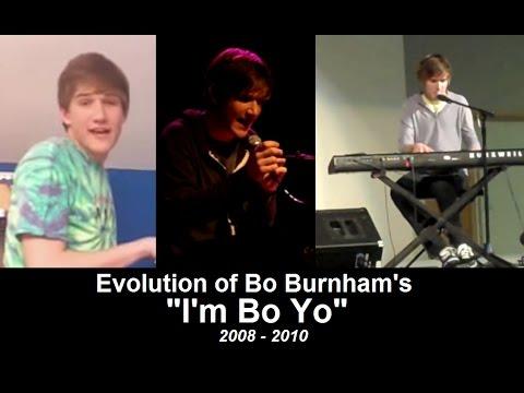 "Evolution of Bo Burnham's ""I'm Bo Yo"""