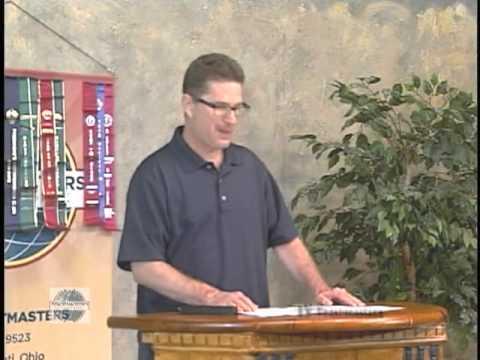 Cincinnati TV Toastmasters Club Meeting of Thursday August 1, 2013