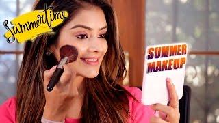 Summer Makeup Tutorial | Makeup Tutorials | Summer Skin Care | Easy Summer Makeup Video | Leena